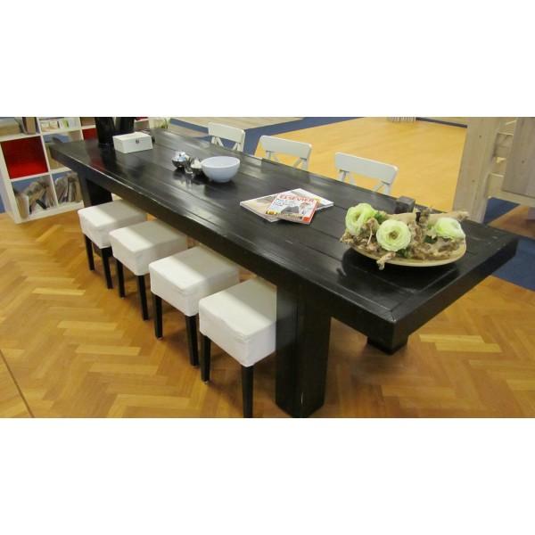zwarte eettafel loungeset 2017